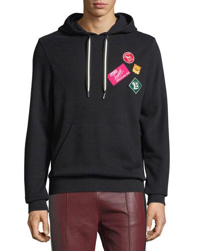 Travel Patch Sweatshirt Hoodie