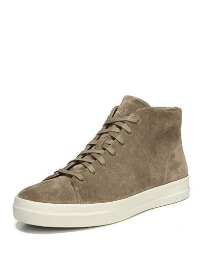 Cullen Suede Mid-Top Sneaker
