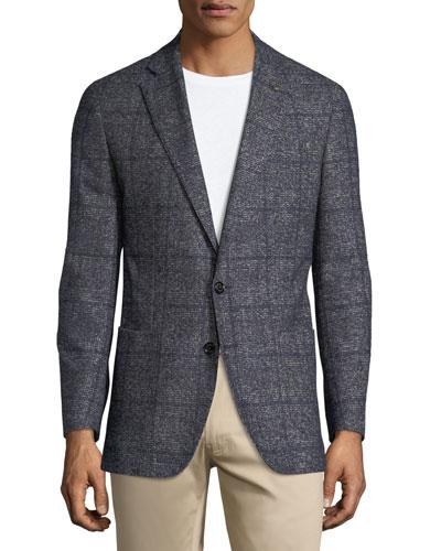 Braan Boucle Knit Soft Jacket.