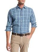 Appalachian Check Flannel Sport Shirt