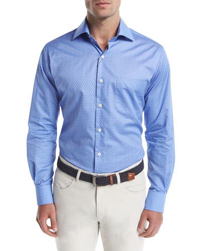Crown Buck Shot Flannel Oxford Shirt
