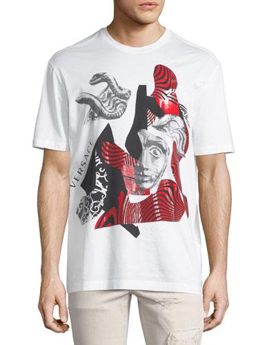 Logo Collage Cotton T-Shirt
