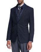Two-in-One Blazer & Vest