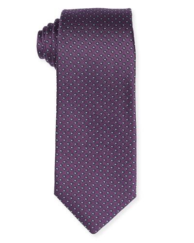 Micro-Box Silk Tie