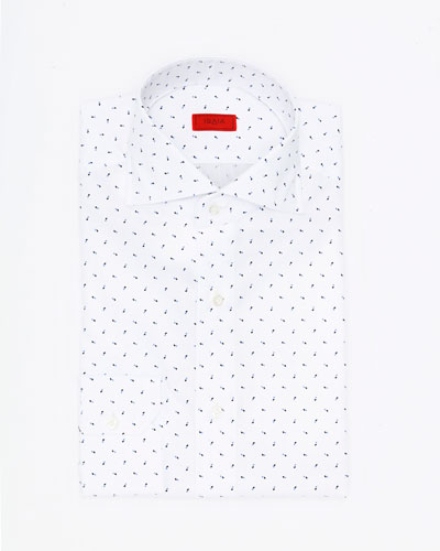 Printed Cotton Dress Shirt