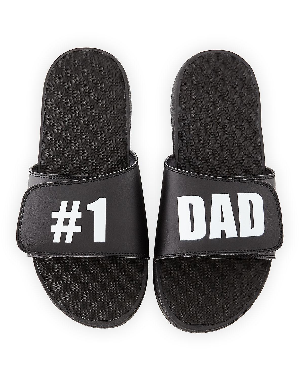 1 Dad Slide Sandal, Black