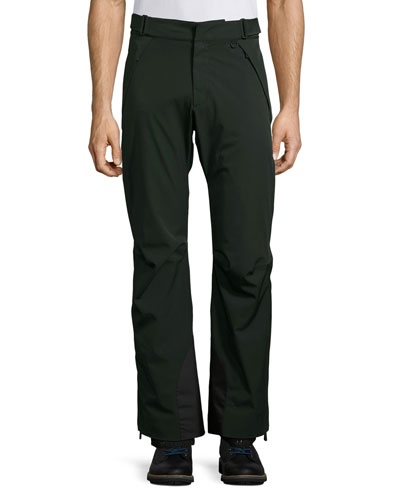 Nylon Ski Pants, Black