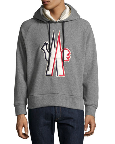 093cf9b9c228 MONCLER Grenoble Logo Patch Hooded Sweatshirt