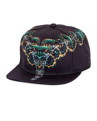 Starter Owe Snake-Print Baseball Cap
