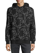 Siouxsie-Sioux Scribble Hoodie