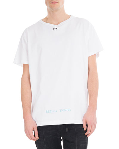 Big Square Cotton T-Shirt