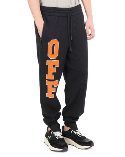 Off Collegiate Cotton Sweatpants