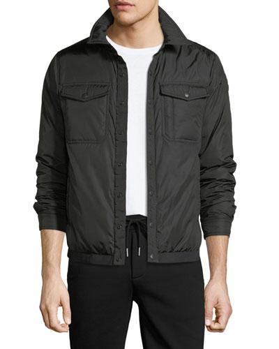 Erault Snap-Front Utility Jacket