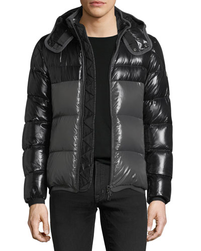 moncler harry contrast jacket