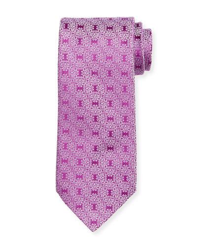 Vine Star Silk Tie