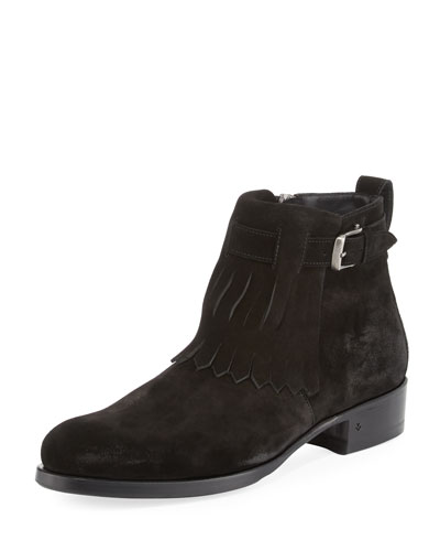 Lafayette Shawl Ankle Boot