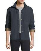 Leroy Quilted Shirt Jacket