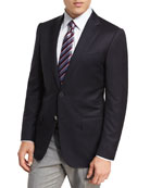 Ermenegildo Zegna Milano Micronsphere Wool Two-Button Sport Coat