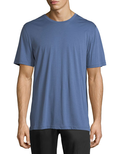 Pima Cotton Crewneck T-Shirt