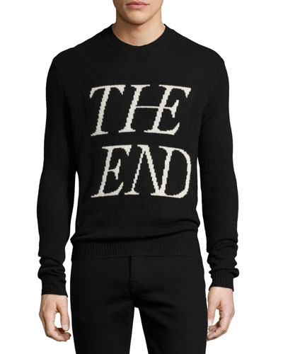 The End Wool-Cashmere Crewneck Sweater