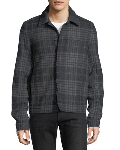 Plaid Trucker Jacket