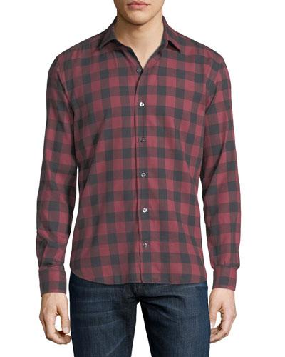 Buffalo Check Cotton Shirt