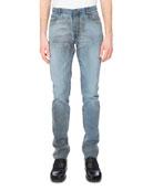 Vintage Dirty-Wash Slim-Straight Jeans