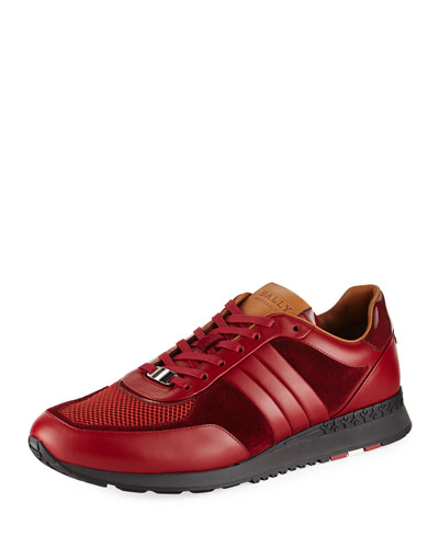 Ascar Leather Running Sneaker