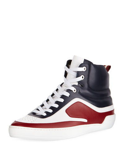 Etra Leather High-Top Sneaker
