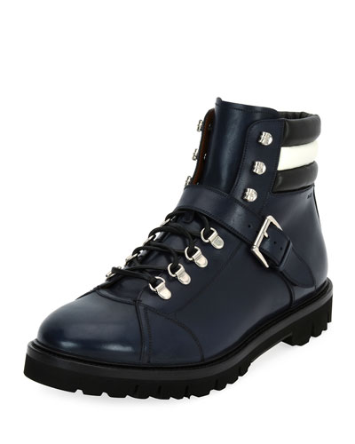 Bally Leathers CHAMPIONS LEATHER HIKING BOOT