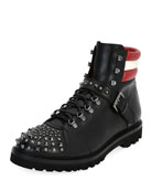 Champions Studded Leather Hiking Boot