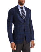 Plaid Wool Sport Coat
