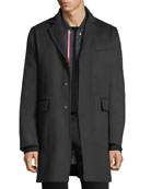 Chesterfield Wool Coat