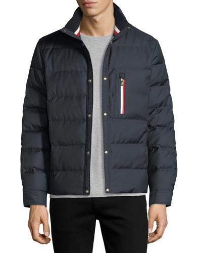 Short Padded Parka Coat