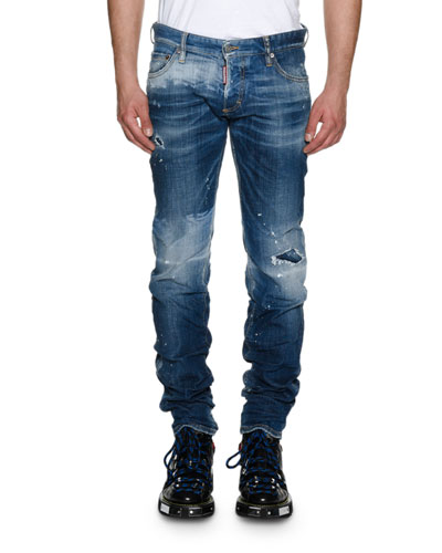 Slim-Fit Canadian Wash Jeans