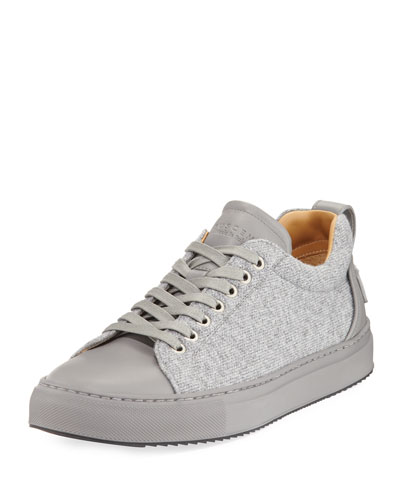Lyndon Wool & Leather Low-Top Sneaker