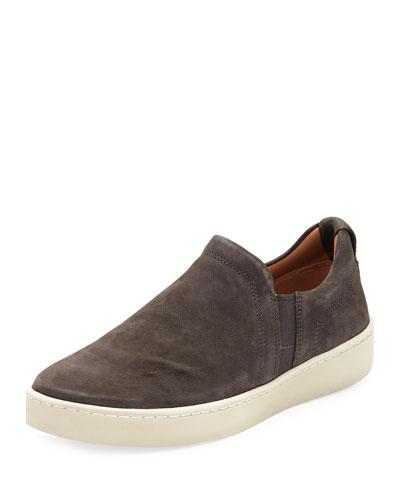 Soren Washed Nubuck Slip-On Sneaker