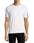 Techmerino Jersey Short-Sleeve T-Shirt, White
