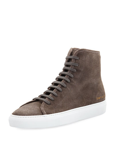Men's Tournament Suede High-Top Sneaker