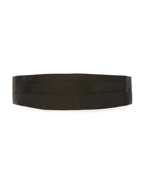TOM FORD Pleated Grosgrain Cummerbund