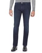 Stretch-Denim Slim-Straight Jeans
