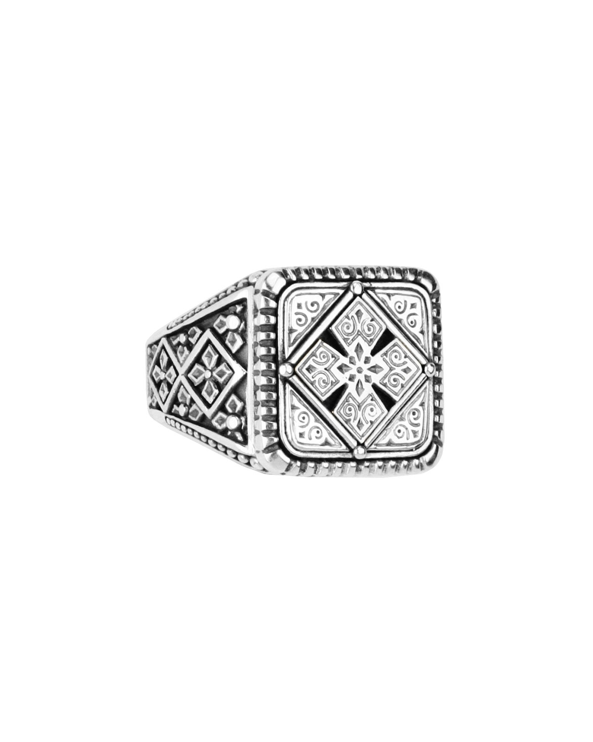Men's Sterling Silver Classics Signet Ring