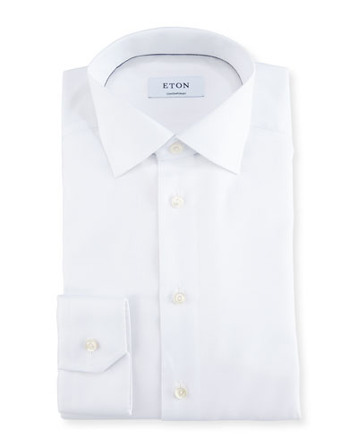 Contemporary-Fit Textured Dress Shirt