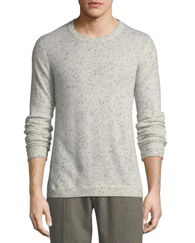 Donegal Cashmere Crewneck Sweater