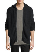 ATM Anthony Thomas Melillo Teddy Zip-Front Hoodie