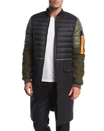MA-1 Hybrid Quilted Jacket