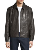 Morrison Lambskin Leather Jacket