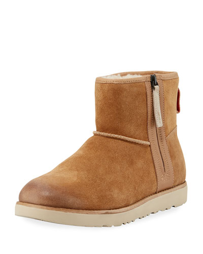 Men's Classic Mini Waterproof Suede Boot