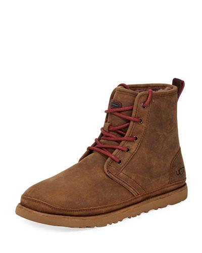 Men's Harkley Waterproof Suede Boot