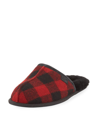 Men's Scuff Buffalo Plaid Slipper